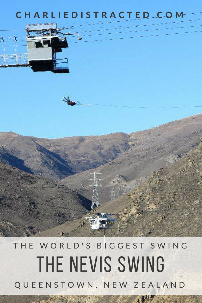 Nevis Swing, Queenstown, New Zealand