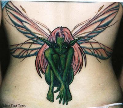 Nude fairy tattoo Nude Photos 13