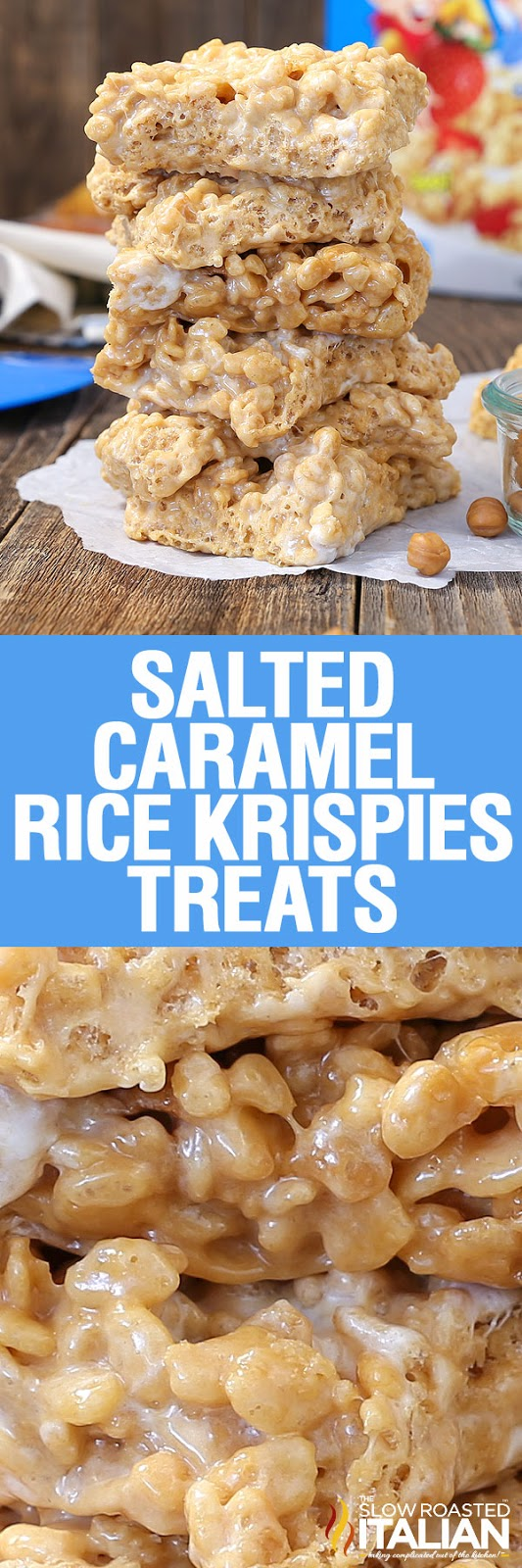 Salted Caramel Rice Krispies Treats Kripiss Medan Karamel Disclosure Posts May Contain Affiliate Links If You Purchase A Product Through An Link Your Price Will Remain The Same And Slow Roasted