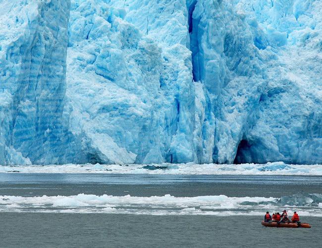 Xvlor Laguna San Rafael National Park is spectacular fjord in Patagonian ice field