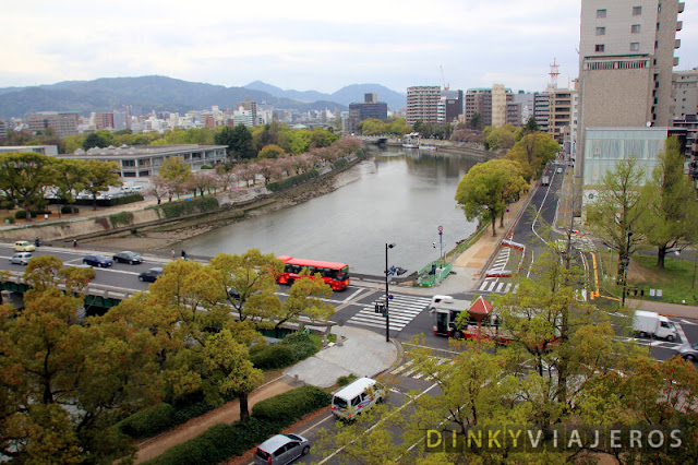 Hotel Sunroute Hiroshima. Vistas desde la habitación