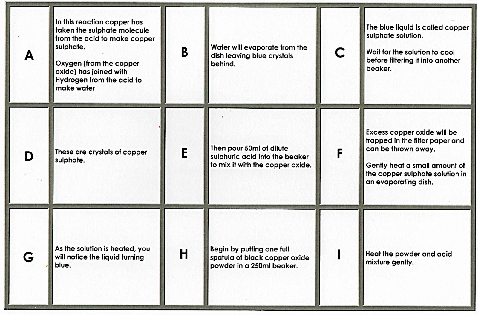 100 Free Science Worksheets Sequencing Problem