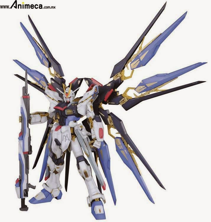 STRIKE FREEDOM GUNDAM ZGMF-X20A PERFECT GRADE (PG) 1/60 GUNDAM SEED DESTINY MODEL KIT