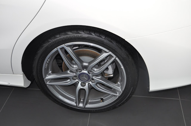 Bộ mâm xe Mercedes CLA 250 2018 thiết kế thể thao AMG 18-inch