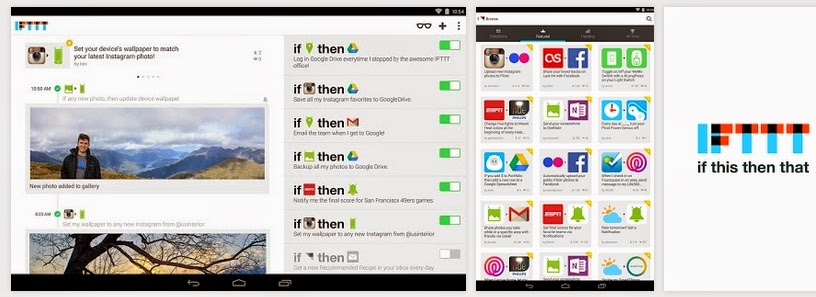 Download IFTTT App for Android, Download IFTTT App for iOS, IFTTT App, IFTTT task automation service, free apps, If This Then That, make the web work for you,