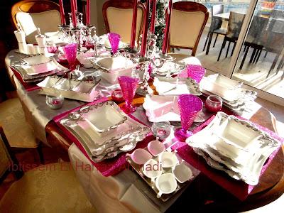 D lices et caprices tables de f te - Dresser table couverts ...