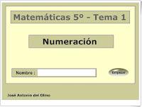 Resultado de imagen de matematicas 5º tema 1 numeracion juan antonio del olmo