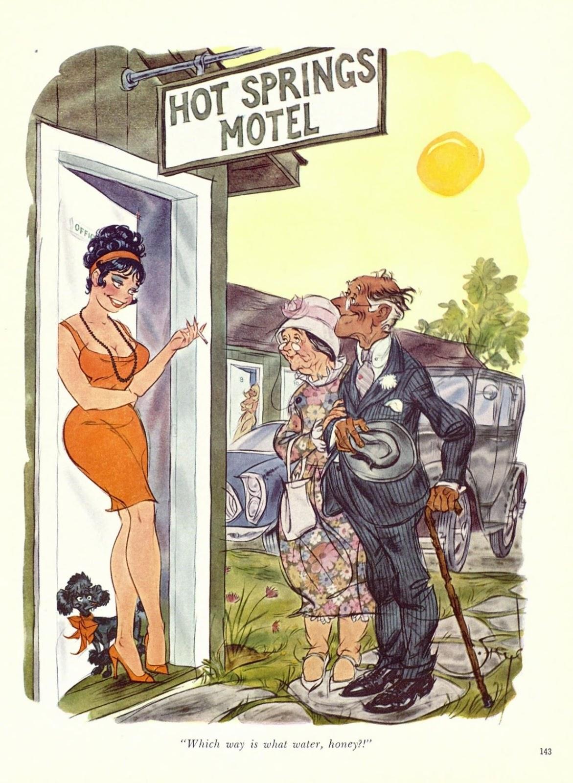 Doug Sneyd - Playboy Cartoons, 1960S  Vintage Arts Gallery-5819
