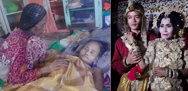 Nenek 65 Tahun Dikabarkan Meninggal Sebulan setelah Dinikahi Brondong
