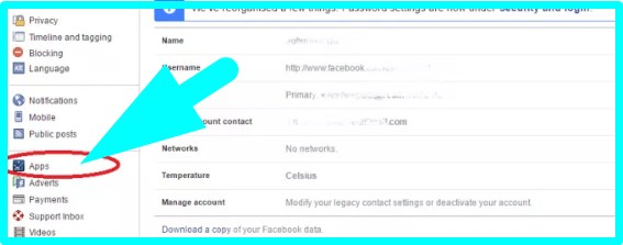 how to quickly remove facebook apps