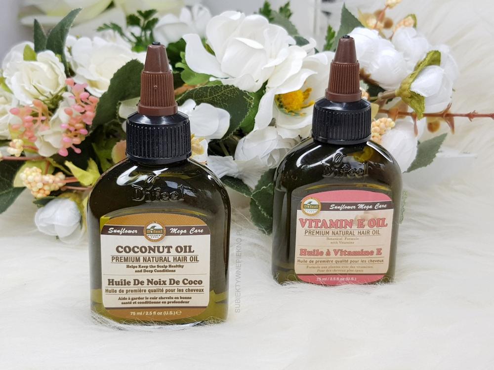 Olejki DiFeel kokosowy Coconut Oil i z witaminą E Vitamin E Oil