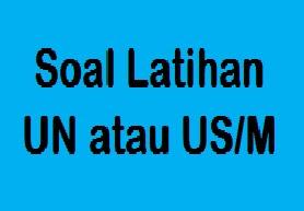 Contoh Soal UN Matematika SD Dalam Menyelesaikan Soal Cerita Operasi Hitung Campuran Bilangan Cacah