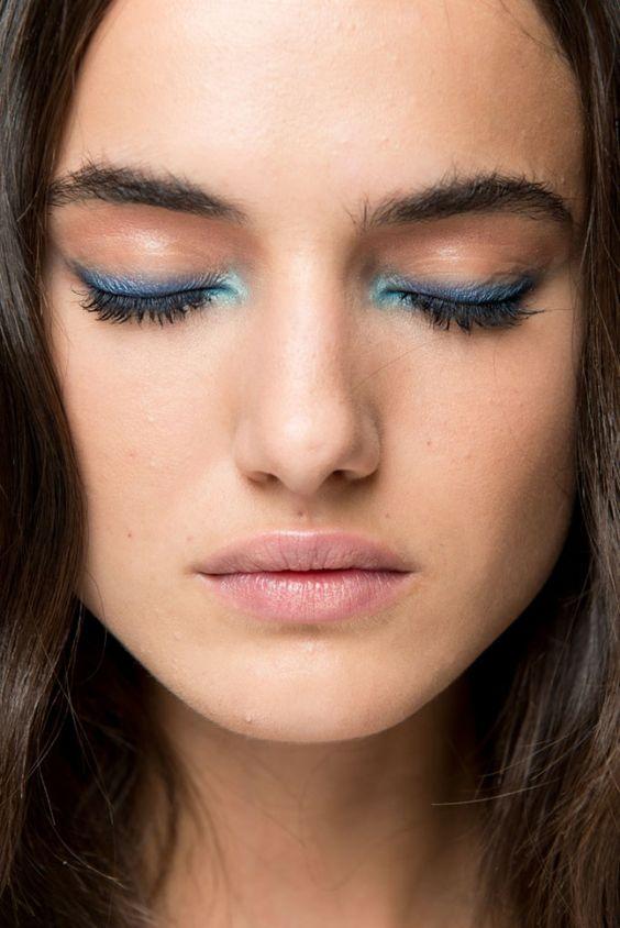 simple eye makeup for this season