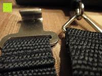 Schlaufe: Tragbare elektronische Waage Gepäckwaage silber