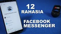 12 Trik Rahasia Pada Pengaturan FB Messenger