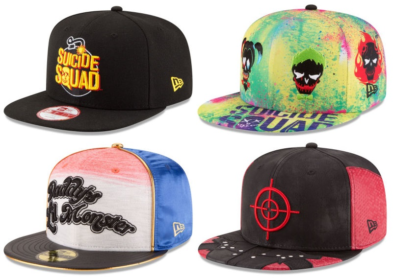 The Blot Says...  Suicide Squad Movie Hat Collection by New Era Cap 3f69f718040