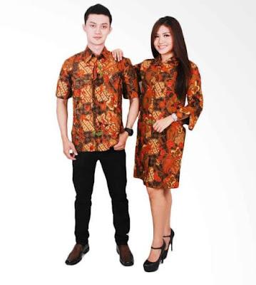model baju batik sarimbit terbaru