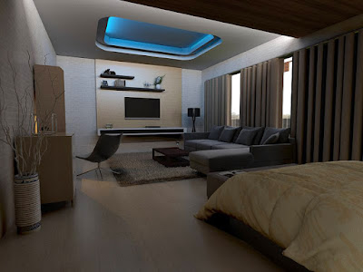 Interior Ultra Modern House, NOIDA, Uttar Pradesh, India