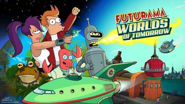 BAIXAR AQUI - Futurama Worlds of Tomorrow v1.5.0 Apk Mod (Dinheiro Infinito)