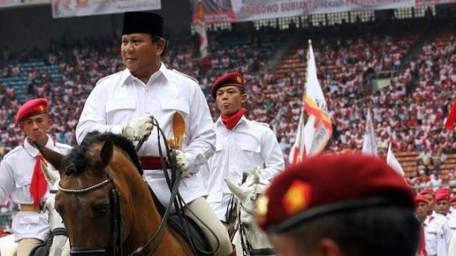 Survei Median: Jika Prabowo Jadi Cawapres Jokowi, 66 % Responden Tak Mau Memilih