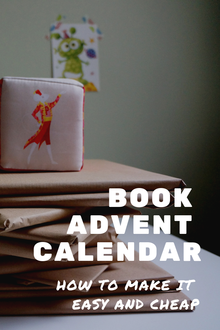 How to do a Christmas book advent calendar. Ideas for books to include in a Christmas calendar and how to save cost.
