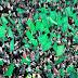 HUT Hamas dengan Parade Rudal Baru di Gaza
