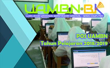 Download POS UAMBN Resmi Tahun Pelajaran 2018/2019