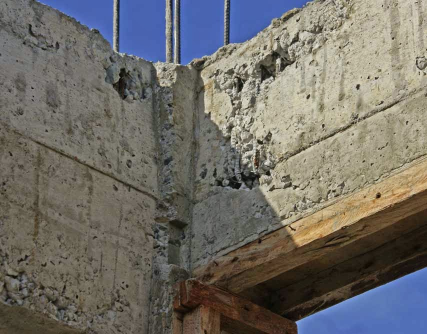 Honey Combing Of Concrete