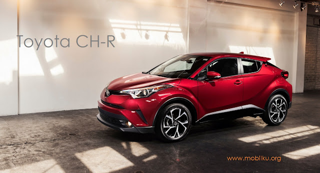toyota chr, 1200 cc, hatchback, crossover, indonesia, dijual, 2018, keluar