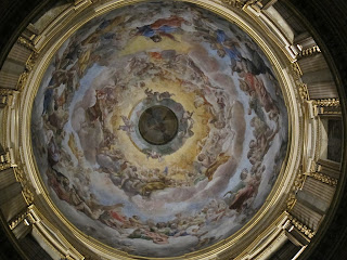 Lanfranco was renowned for his dome frescoes, particularly those inside the Basilica of Sant'Andrea della Valle in Rome