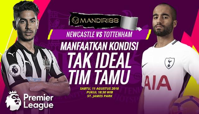 Prediksi Newcastle United Vs Tottenham Hotspur, Sabtu 11 Agustus 2018 Pukul 18.30 WIB