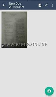 scan dokumen lewat hp