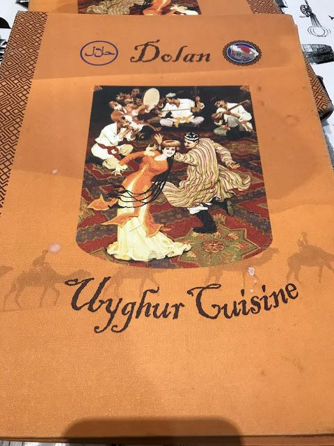 Melbourne, Dolan Uyghur Restaurant, Uyghur cuisine