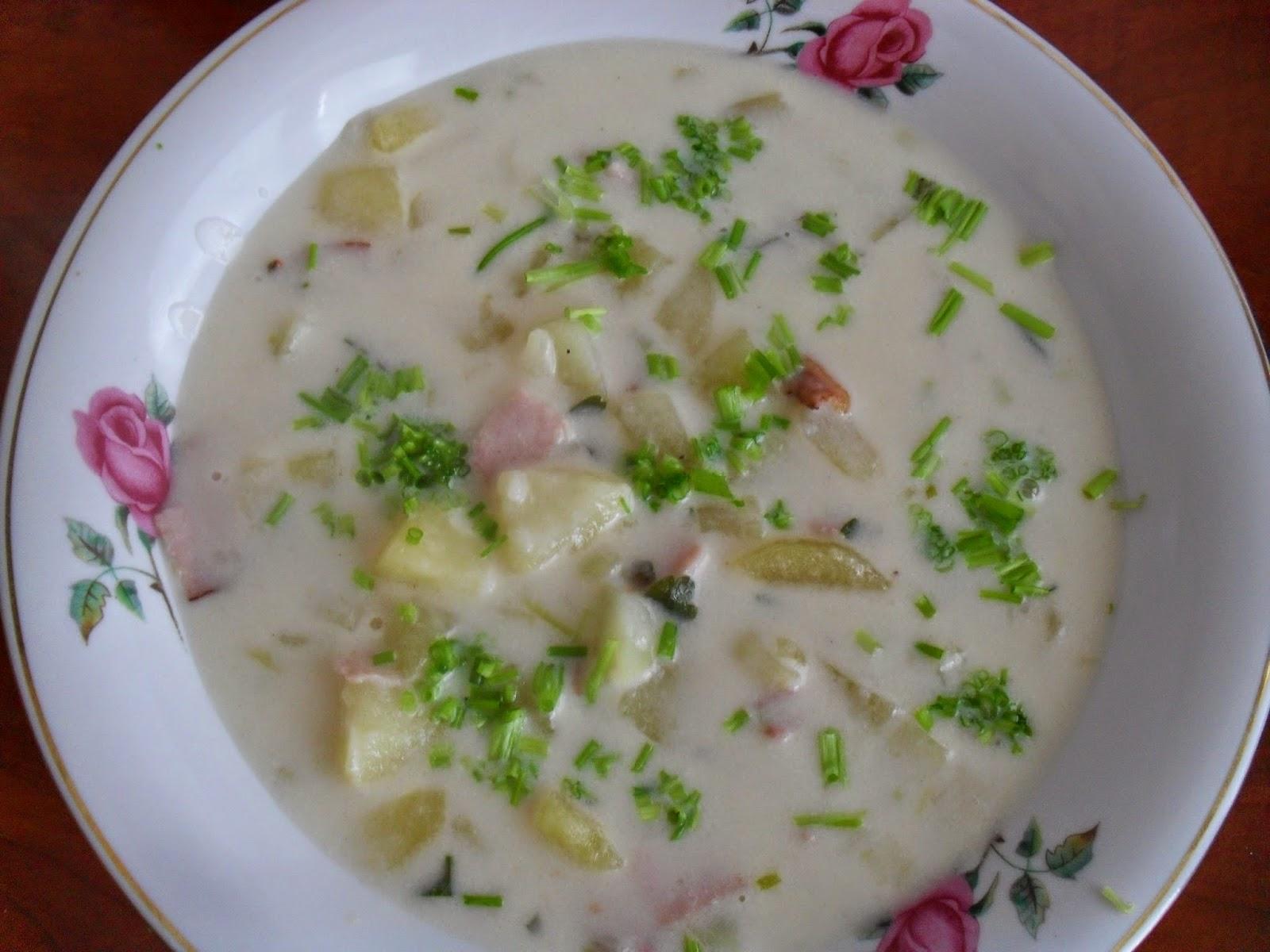 amerykańska zupa ziemniaczana