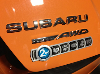 how to install subaru badge of ownership