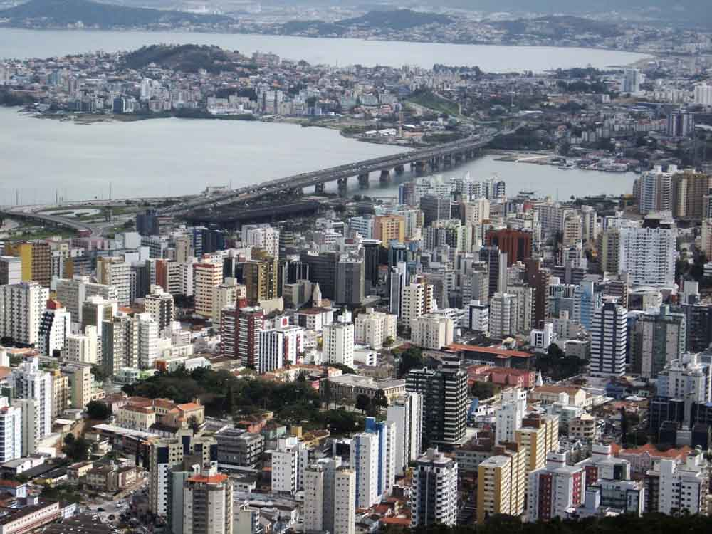 AS 10 CIDADES MAIS POPULOSAS DE SANTA CATARINA