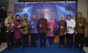 Wako dan Wawako Palembang Hadiri Rakernas Akutansi dan Pelaporan Keuangan Pemerintah tahun 2018