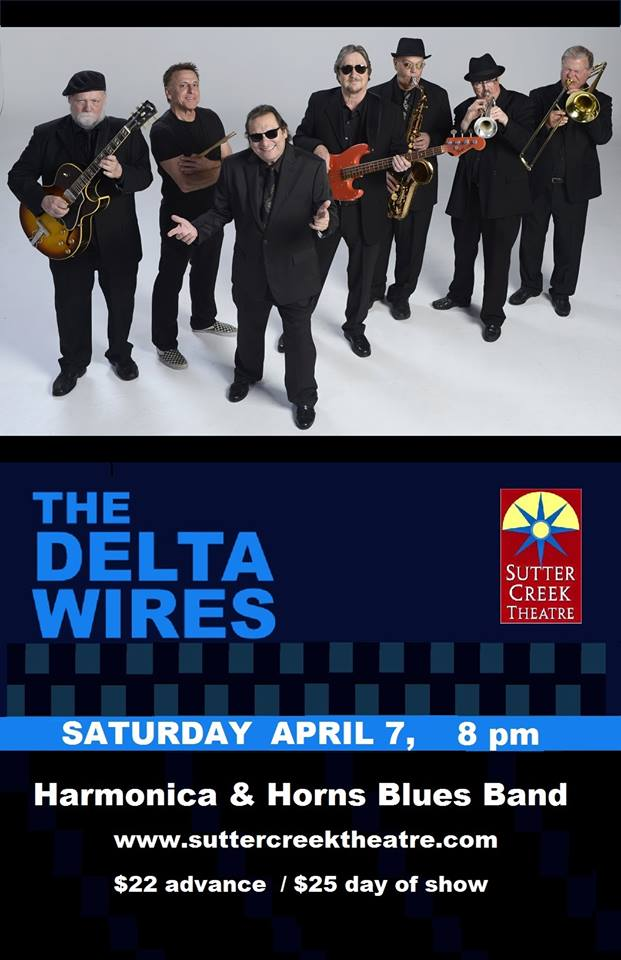 Sutter Creek Theater: Delta Wires - Sat Apr 6