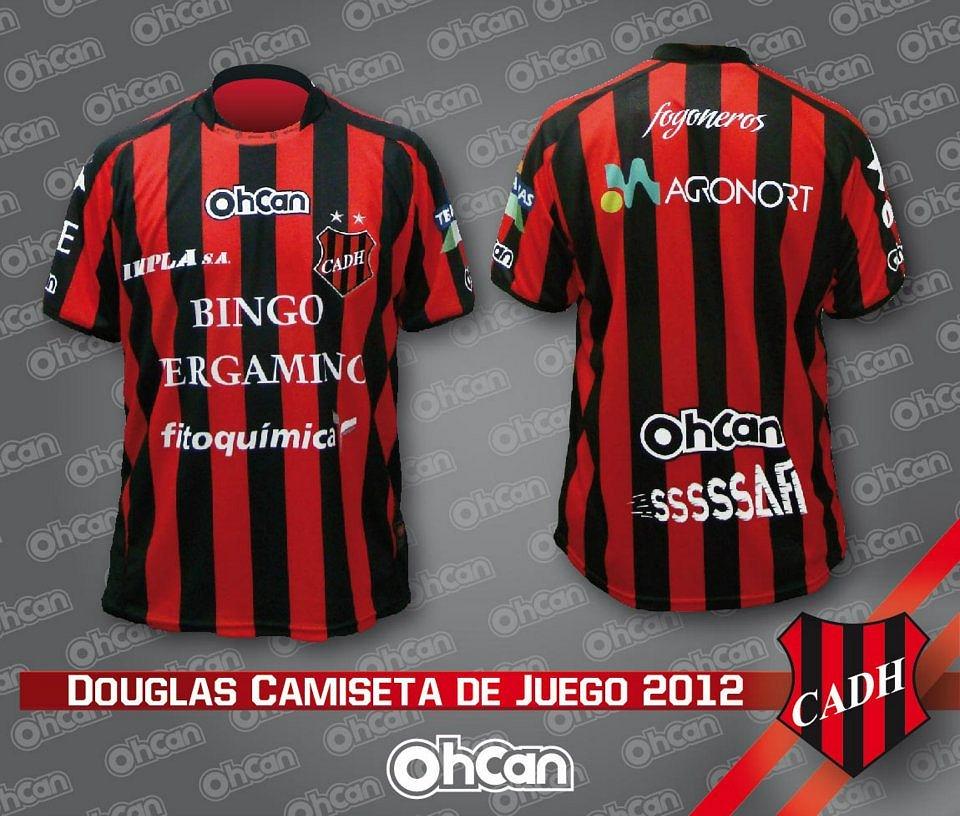 82f47aa3d3 Ohcan lança as novas camisas do Douglas Haig - Show de Camisas