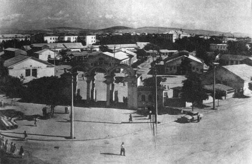 Центральный рынок Симферополя, 1957 год