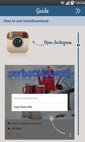 Cara Mengambil Foto Instagram
