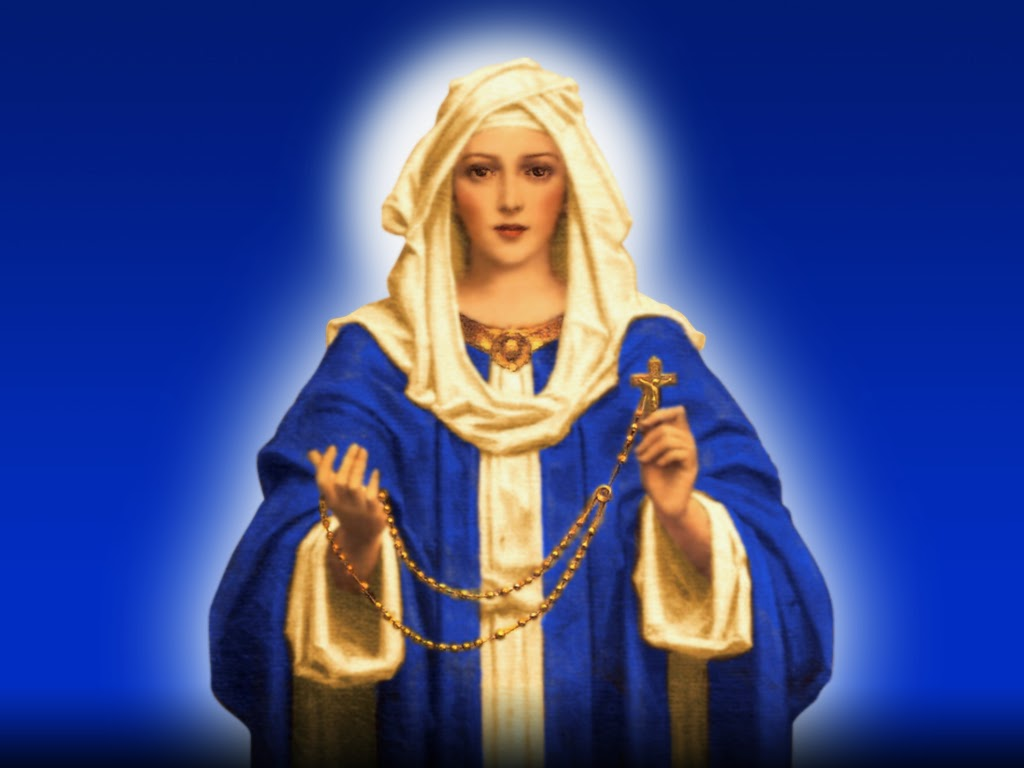 Holy Mass Images Our Lady Of The Holy Rosary