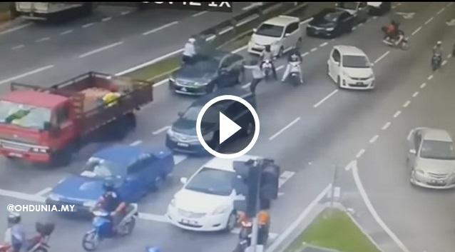 Video CCTV Dan 6 Gambar Lelaki Ditembak 16 Das Di Setapak Sentral