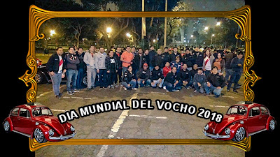 Lideres de los diversos club de Vochos de Lima-Perú