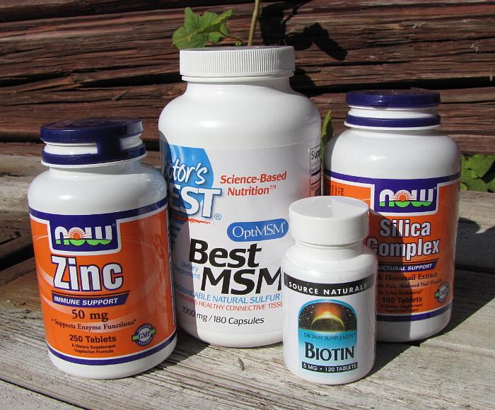 hiusvitamiinit iHerb vitamiinit iholle vitamiineja kynsille silica pii msm biotiini sinkki zinc