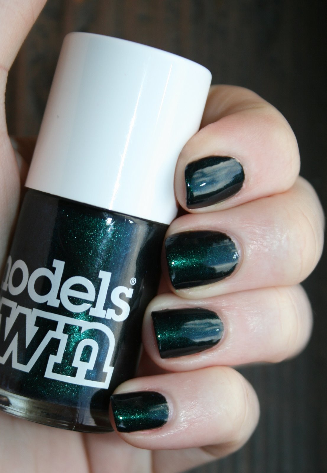 Models Own Emerald Black swatch