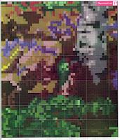 Вышивка бисером сказочный лес. Схема