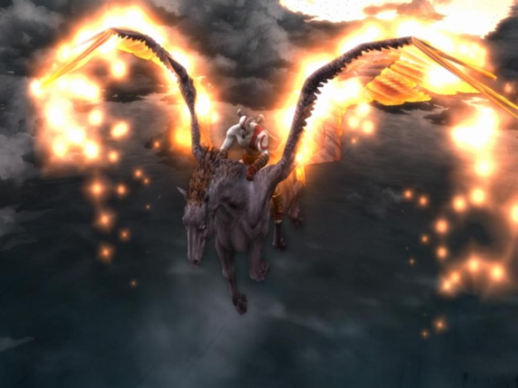 Fire Effect 3D Wallpaper (1024x768)