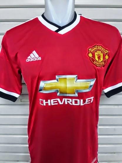 bd6faf840 Kumpulan Jersey Bola  Jersey Bola Manchester United Home 2015-2016