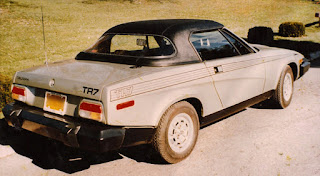 Smooth Line hardtop for Triumph TR7